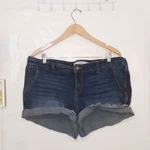 Torrid | Cuffed Style Jean Shorts